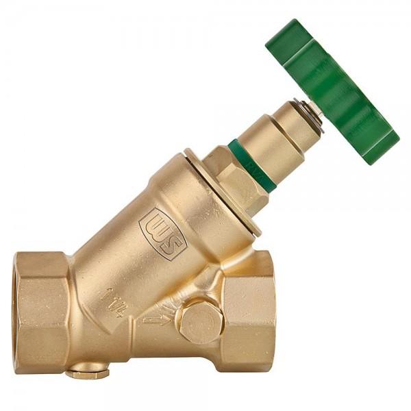 Schrägsitzventil KFR ohne Entleerung Absperrventil Freistromventil DVGW