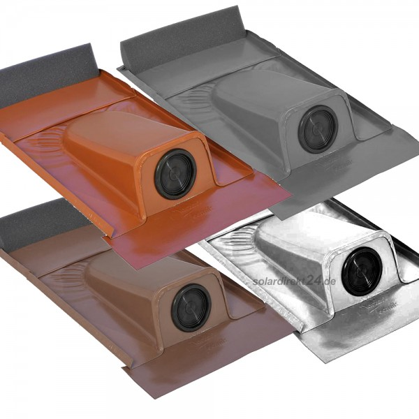 Dachdurchführung für Tondachziegel pulverbeschichtet Solarleitung Solar