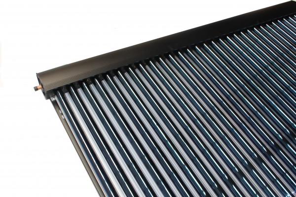 Vakuumröhrenkollektor Sonnenkollektor Eurotherm-Solar PRO - 30R (4,58 m²) BlackLine