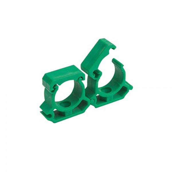 Aqua-Plus - PPR Rohr Halterung d = 25 mm, grün = 180 Stück