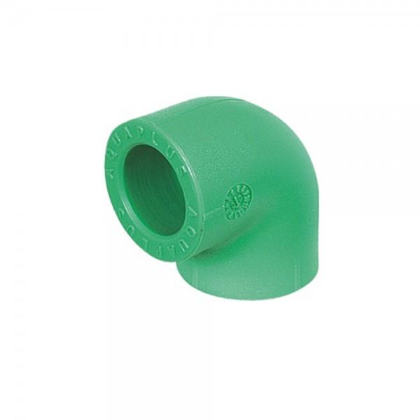 Aqua-Plus - PPR Rohr Winkel 90° Kunststoff Schweißsysteme 20-40 mm