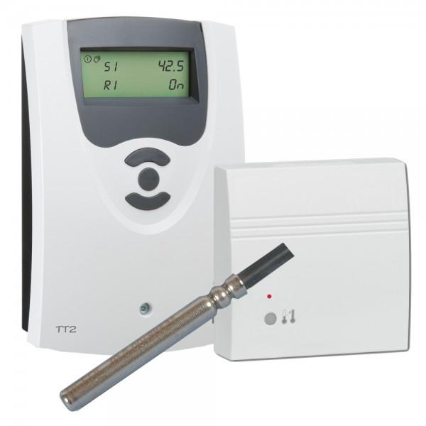 Resol Thermostat TT2 (inkl. 1xFKP6 und Fernbedienung RCTT)