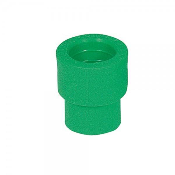 Aqua-Plus - PPR Rohr Reduzierstück, grün