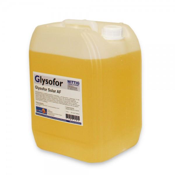 Glysofor AF -28° Solarliquid Solarflüssigkeit Frostschutz Solarfluid Kältemittel
