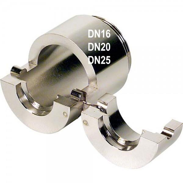 Klemmbacken für Flansch / Dichtsitz - Schlagwerkzeug DN16 DN20 DN 25