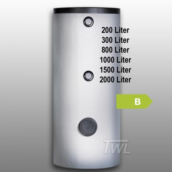 Emailierter Brauchwasserspeicher 2x Wärmetauscher EEK-B Trinkwasserspeicher