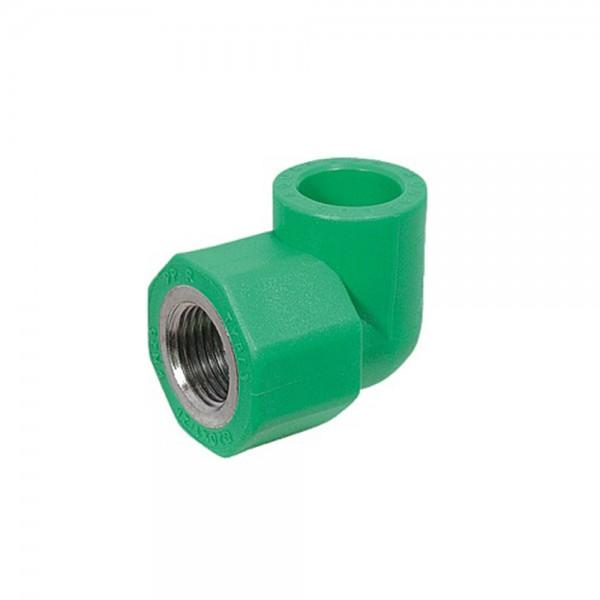 Aqua-Plus - PPR Rohr Winkel 90° IG Kunststoff Schweißsysteme 20-32 mm