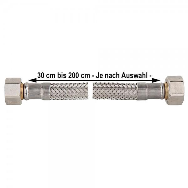"""Panzerschlauch IGxIG 3/8"""" bis 1 1/4"""" Flexschlauch Druckschlauch KTW-A"""