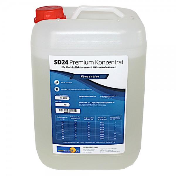 SD24 Solarflüssigkeit Premium Konzentrat 10 Liter