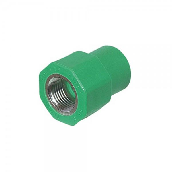 Aqua-Plus - PPR Rohr Kupplung IG Kunststoff Schweißsysteme 20-40 mm