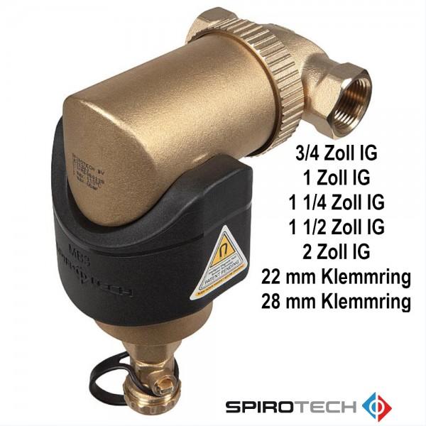 Spirotrap MB3 Schlammabscheider mit Magnet Innengewinde Klemmring