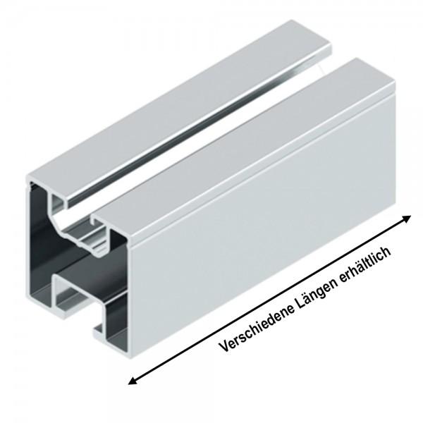 ALU-Trägerprofil 40x40mm Länge wählbar Montageprofil Montageschiene
