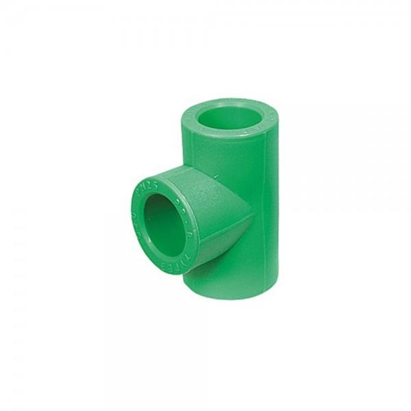 Aqua-Plus - PPR Rohr Reduzier-T-Stück, grün