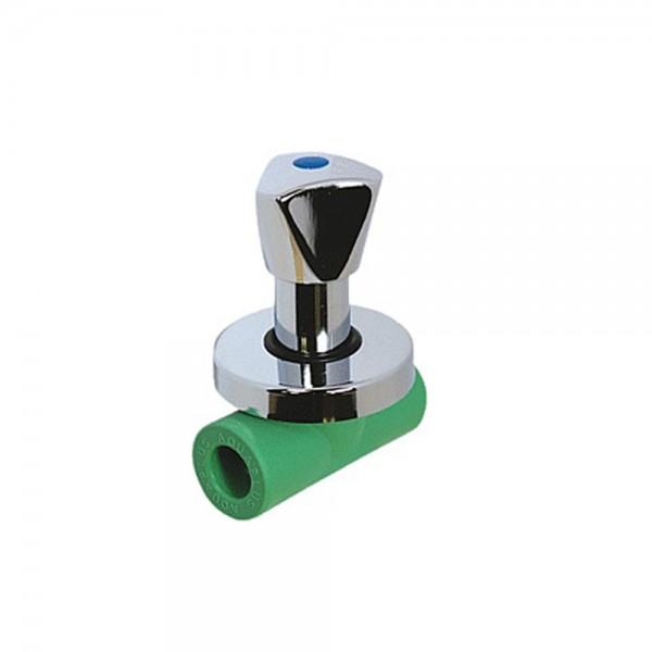 Aqua-Plus - PPR Rohr absperrbarer Hahn Schweißsysteme 20-25 mm