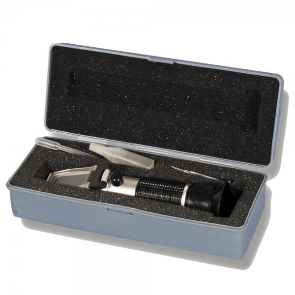 Resol Refraktometer-Set zur Bestimmung des Eisflockenpunktes
