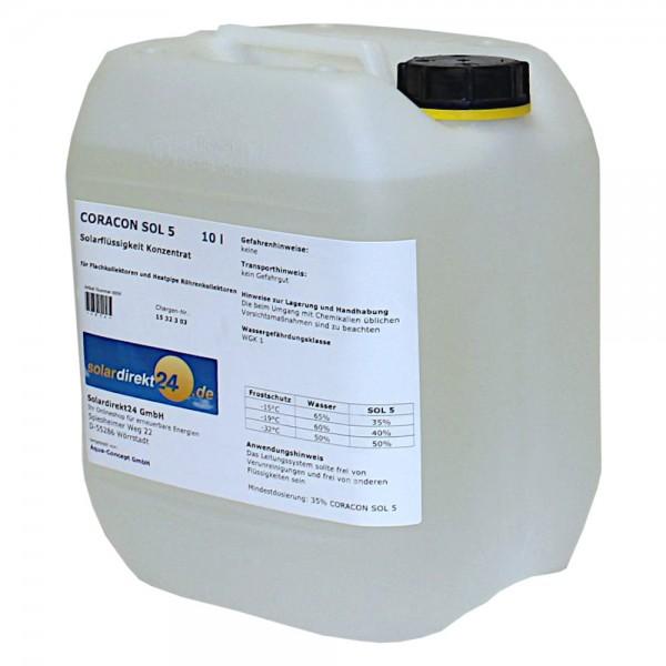 10 - 50 Liter CORACON SOL 5 Konzentrat Solarkollektoren Solarflüssigkeit