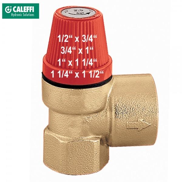 Überdruckventil DN15 bis DN40 - 2,5bar / 3bar Überdruckventil Sicherheitsventil Serie 532