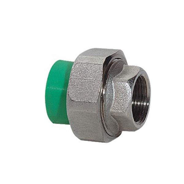 Aqua-Plus - PPR Rohr Kupplung Messing IG Schweißsysteme 20-40 mm