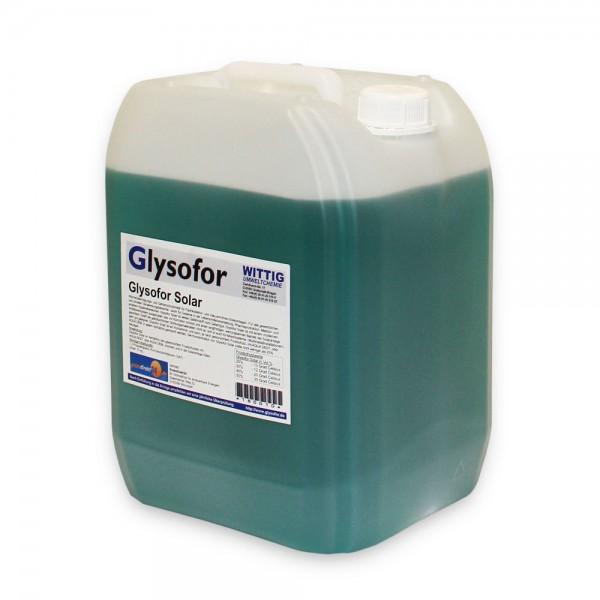 Glysofor Solarflüssigkeit Konzentrat bis -50° Frostschutz Solarfluid Kältemittel