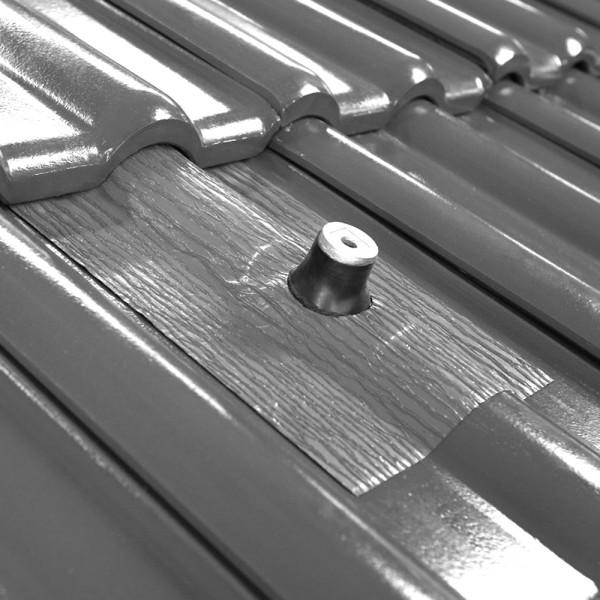 AufdachDICHT Manschette 8-90 mm SCHWARZ Abdichtung Dachdurchführung Solar