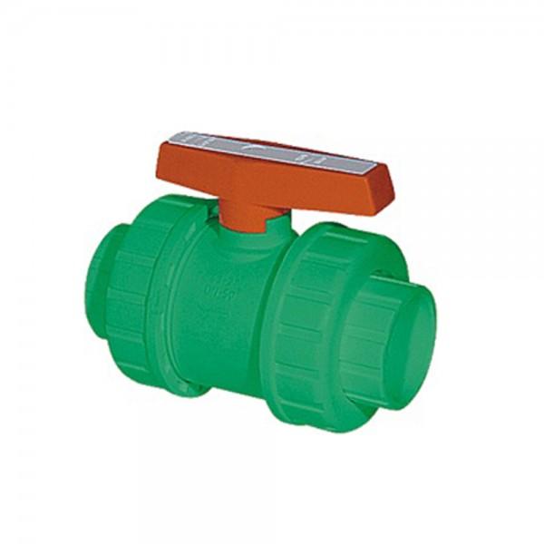 Aqua-Plus - PPR Rohr absperrbarer Kugelhahn Schweißsysteme 20-40 mm
