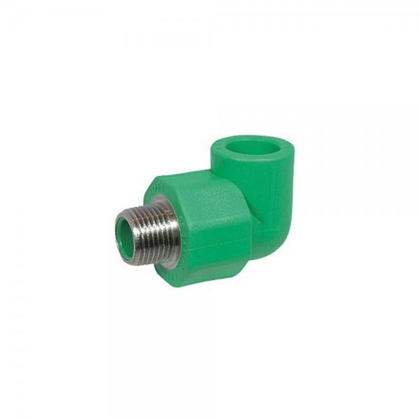 Aqua-Plus PPR Rohr Winkel 90° AG