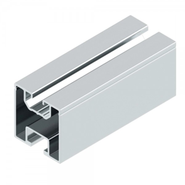 Aluminium Trägerprofil 40x40mm verschiedene Längen Montageprofil Montageschiene