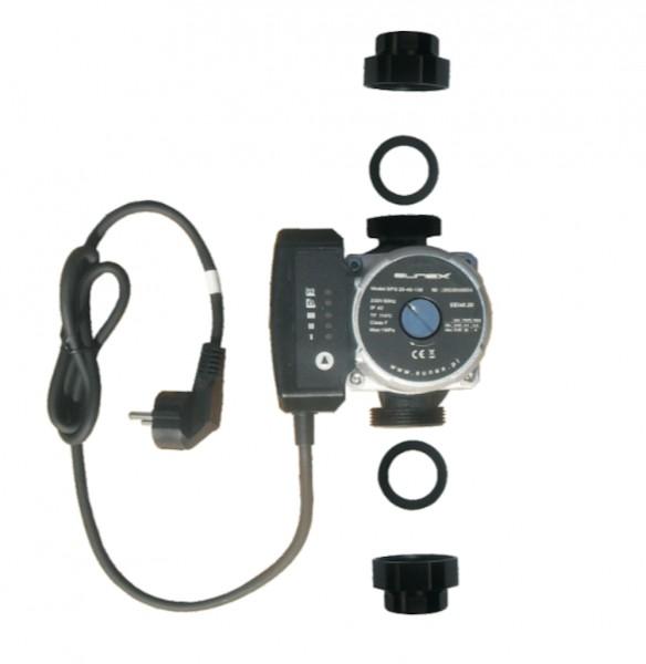 Heizungspumpe Umwälzpumpe SPG 25-4/130 Klasse A Hocheffizienz inkl. Kabel