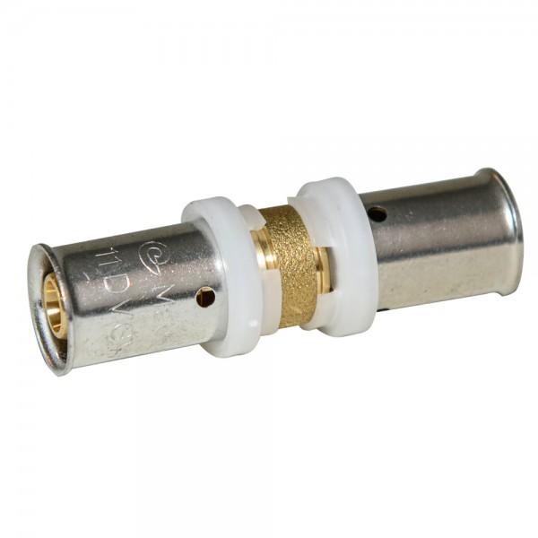 Press - Kupplung 16x2mm, DVGW, TH, Pressfitting, Presskupplung, Verbundrohr