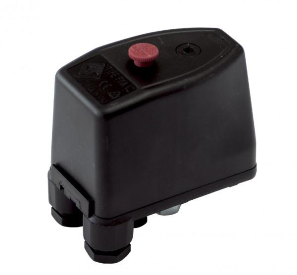 Druckschalter PTA 12 für Kompressoren 1/4 Zoll IG 3,0 - 12 bar 400V/220V