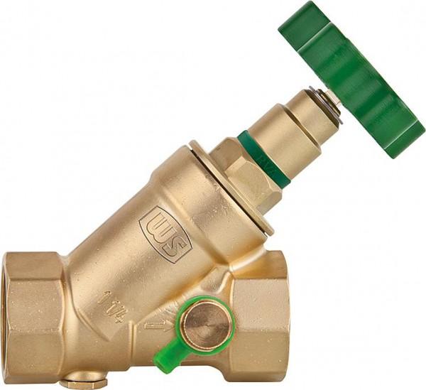 Schrägsitzventil KFR mit Entleerung Absperrventil Freistromventil DVGW