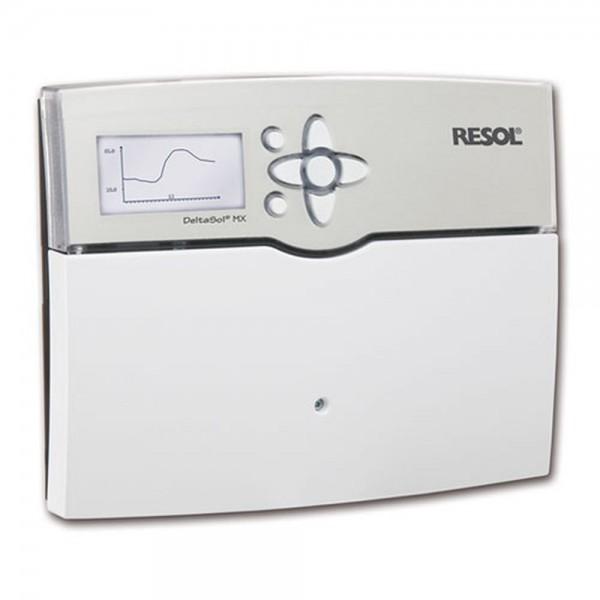 Solarsteuerung Resol DeltaSol MX (inkl. 6 PT1000 Fühlern - 2 x FKP6 - 4 x FRP6) - Komplettpaket