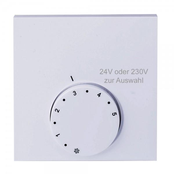 Alpha direct Analog 24V / 230V Raumtemperaturregler Raumthermostat H & HK