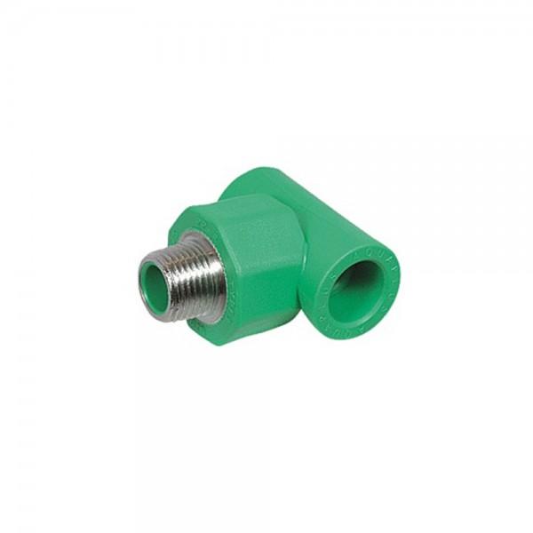 Aqua-Plus - PPR Rohr T-Stück AG Kunststoff Schweißsysteme 20-40 mm