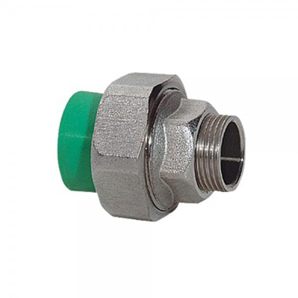 Aqua-Plus - PPR Rohr Kupplung Messing AG Schweißsysteme 20-40 mm