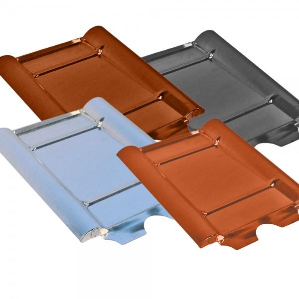 Unterlegplatte verzinkt Typ Beton Metalldachplatte für Frankfurter Pfanne