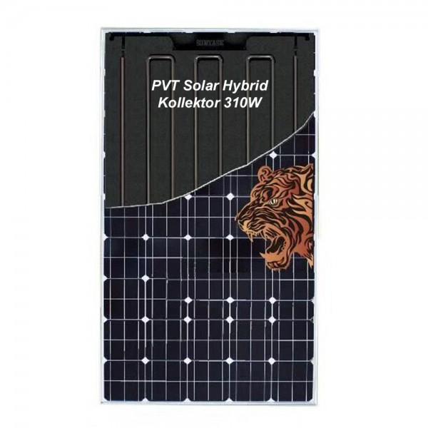 Hybrid Kollektor 310W PV Solarmodul für Solarstrom & Warmwasser Monokristallin