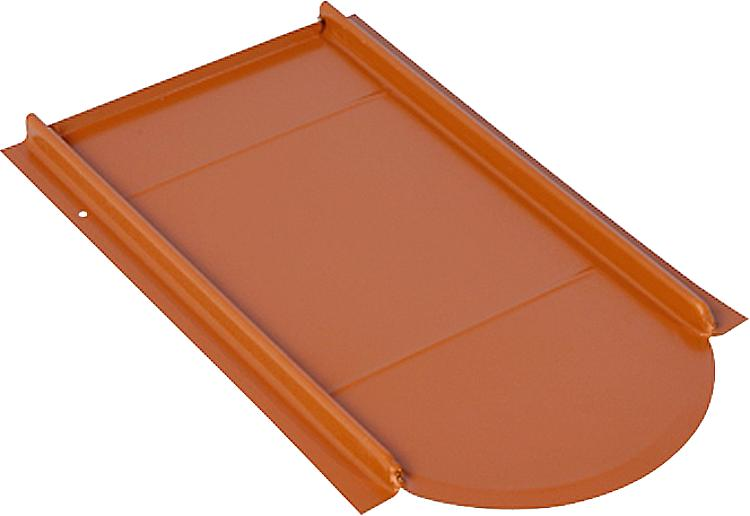 Unterlegplatten Typ Vario Rot pulverbeschichtet Metalldachplatte für Biberschwan